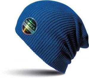 Bonnet bde à personnaliser bleu
