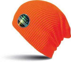 Bonnet bde à personnaliser orange