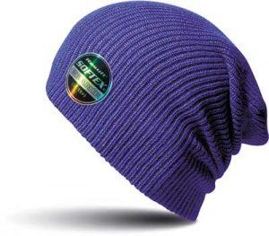 Bonnet bde à personnaliser violet