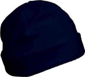 Bonnet polaire personnalisable bleu foncé pour association étudiante et BDE
