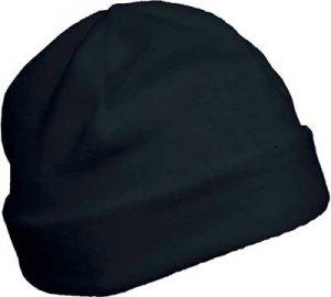 Bonnet polaire personnalisable gris foncé pour association étudiante et BDE