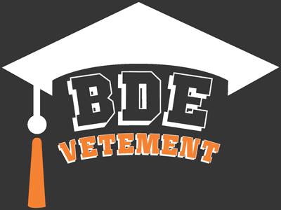 Logo vêtements BDE : textile personnalisé pour les écoles, les BDE et les universités.