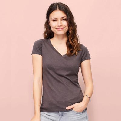 t-shirt col V pour BDE